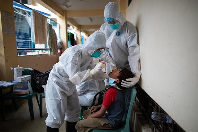 菲律宾新增新冠肺炎确诊病例1733例 累计438069例