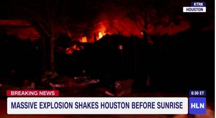美国休斯敦一工厂发生爆炸,造成至少2人死亡