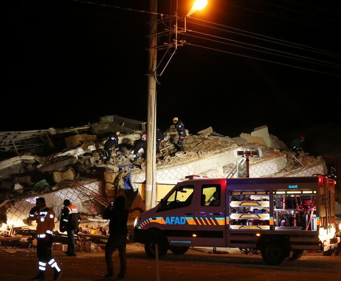 土耳其东部强震 至少18人遇难