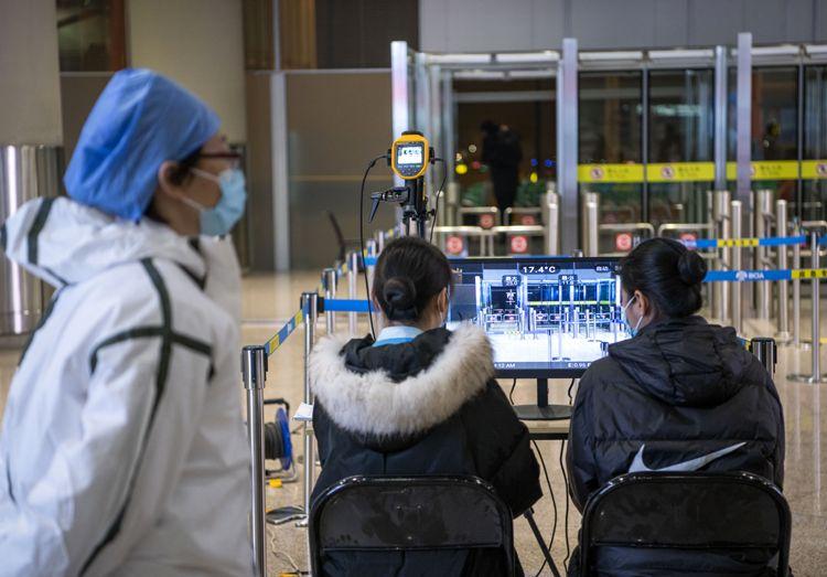 首都机场和大兴机场对所有抵京旅客检测体温