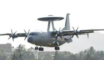 春节关键时刻不放松,空警500预警机巡航南部海空,对手无处遁形