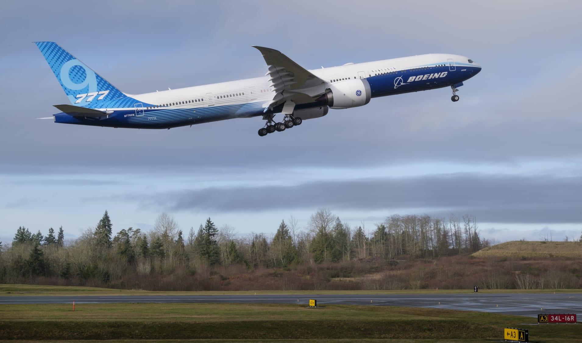 波音777X完成首飞 应对国际声誉和市场压力的一个里程碑