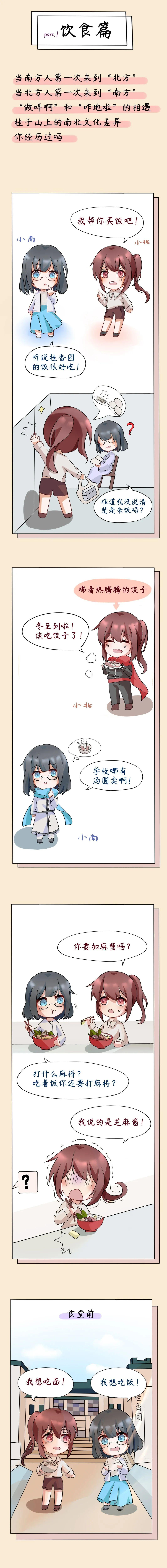 华师山民们的南北生活差异~图片