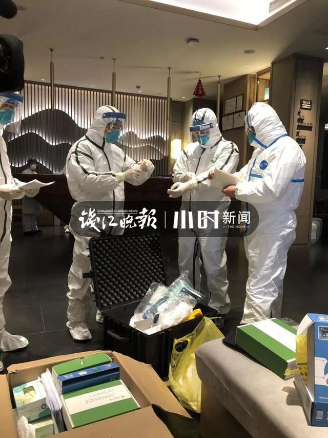 省疾控中心开展从新加坡抵杭武汉旅客流行病学调查
