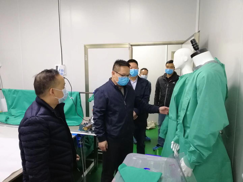 南宁市市场监管局为医疗器械生产企业开通绿色通道 保证防疫产品市场供应