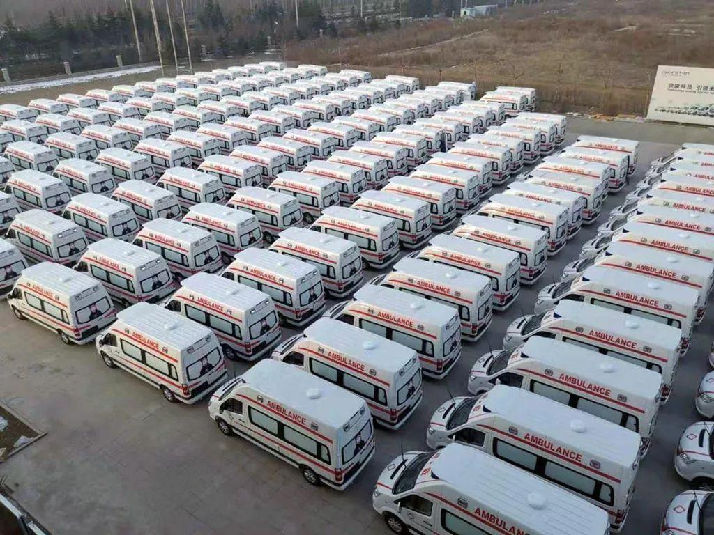 北汽福田紧急组织生产负压救护车,驰援疫情防控工作