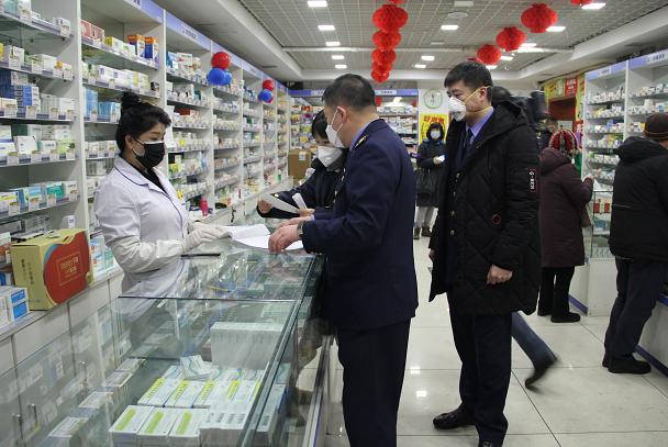 口罩以次充好 哈尔滨一药店被处5