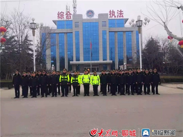东阿县综合行政执法局:凝心聚力,奋力打赢防疫狙击战