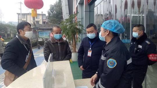 蒲江县:强化监督检查  纪检监察干部在一线