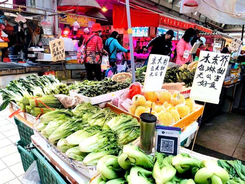 放心吃肉吃菜!广州今天生猪屠宰量增4倍,江南市场蔬菜批发4589吨