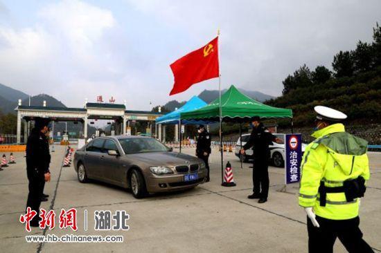 湖北通山:抗疫一线党旗红