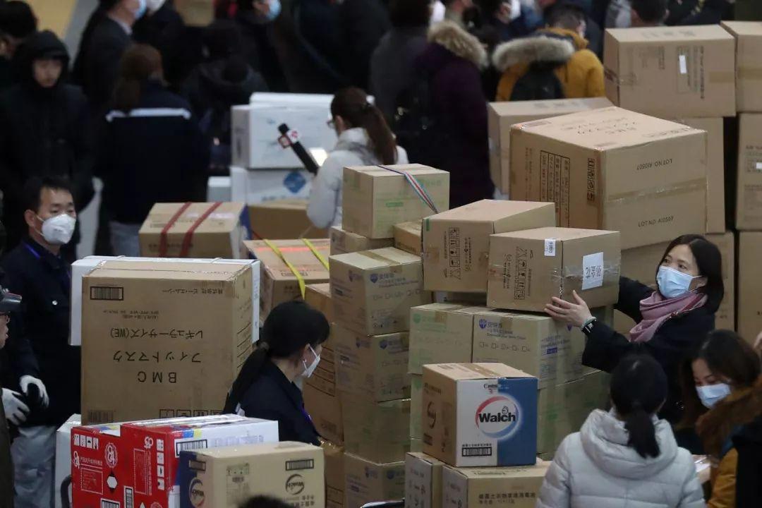50亿!这些企业都向武汉捐赠了:过亿的超过20家插图