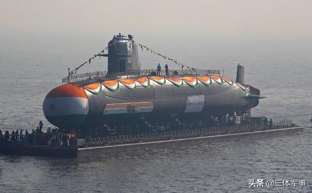 新增6艘潜艇耗资70亿美元,印度75号工程假想敌已确定为中国航母