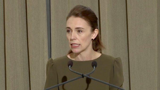 新西兰总理为清真寺恐袭案致歉:我们出现很多失误