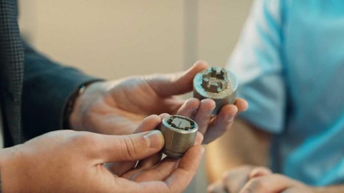 福特用3D打印技术制造声纹识别锁