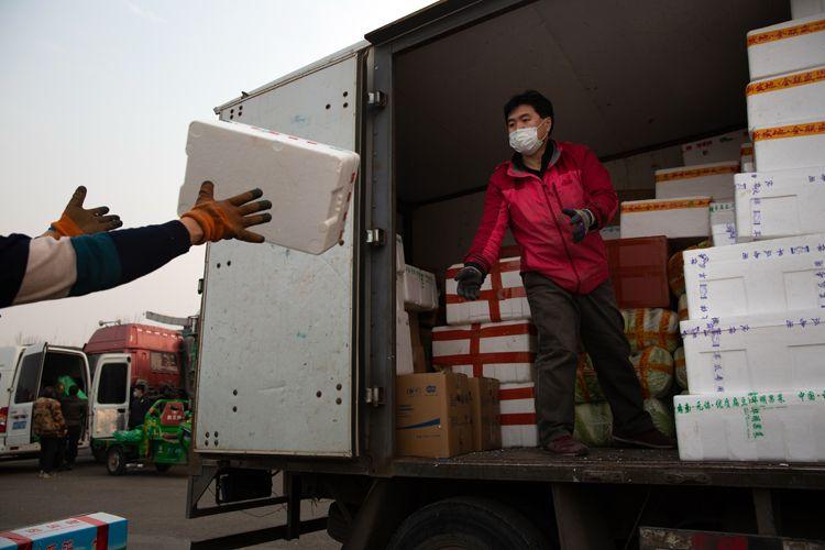 北京农产品货源充足 市民无需囤积蔬菜|组图