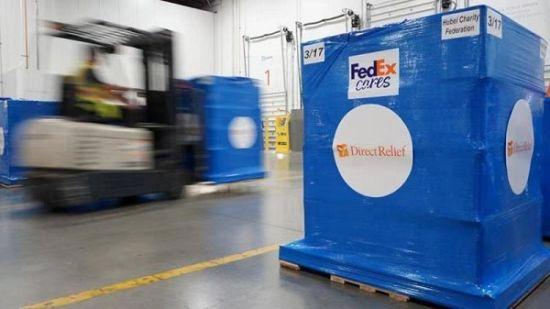 联邦快递大力支持运输抗疫情急需医疗用品