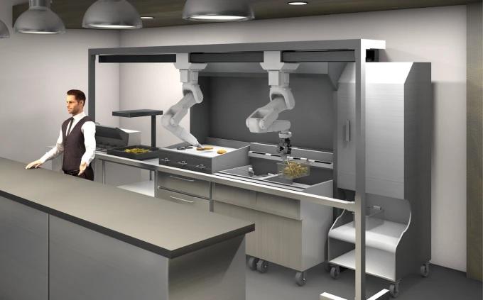 节员省地增利润 Miso Robotics推出新款Flippy 2厨房机器人
