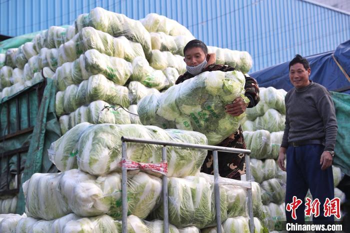 """探访上海最大蔬菜批发市场:""""今"""