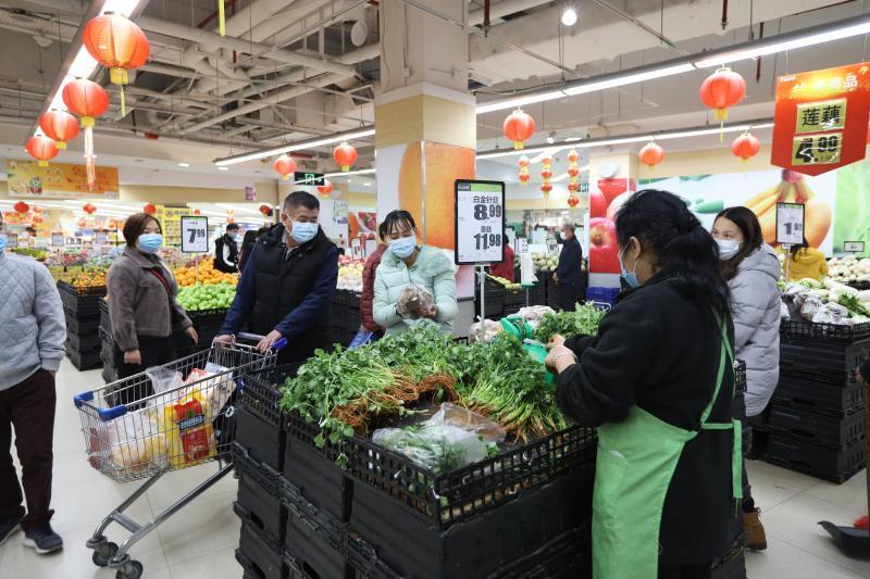 东莞莞城:市场、超市供货充足 市民无需抢购囤货