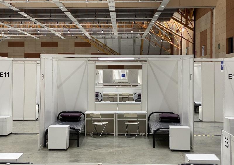 马来西亚重启方舱医院 用于安置非马确诊公民