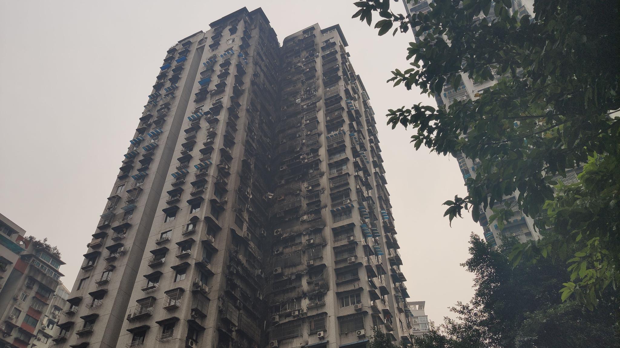 重庆加州花园起火房屋住户:系餐厅员工宿舍,事发时无人图片