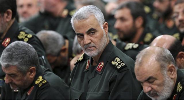 """""""暗局之神""""伊朗老将遭美军空袭暗杀 曾痛击叙恐怖分子"""