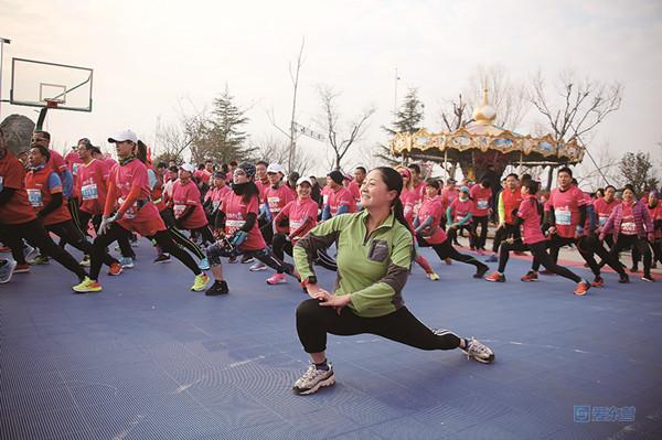 迎着朝阳奔跑!2020东营市迎新长跑暨半程马拉松赛举行
