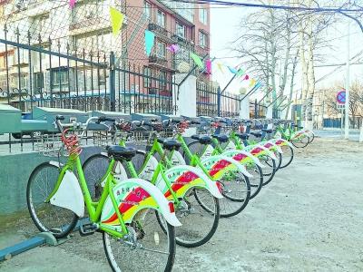 通州公共自行车进了朝阳就犯难
