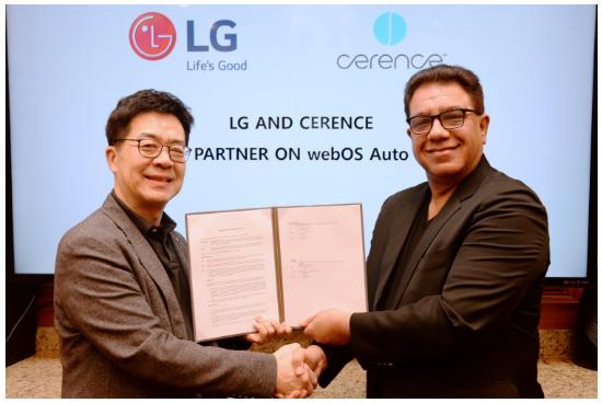 Cerence与LG合作开发软件平台 打