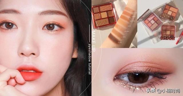 不同眼型的矫正眼影画法!长眼、圆眼、肿泡眼万用眼影公式