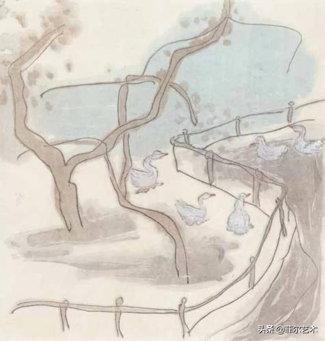 南京艺术学院美术学院教授杨春华国画作品欣赏