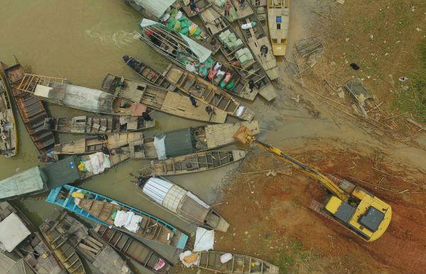 港媒:中国推十年禁渔令保护长江图片