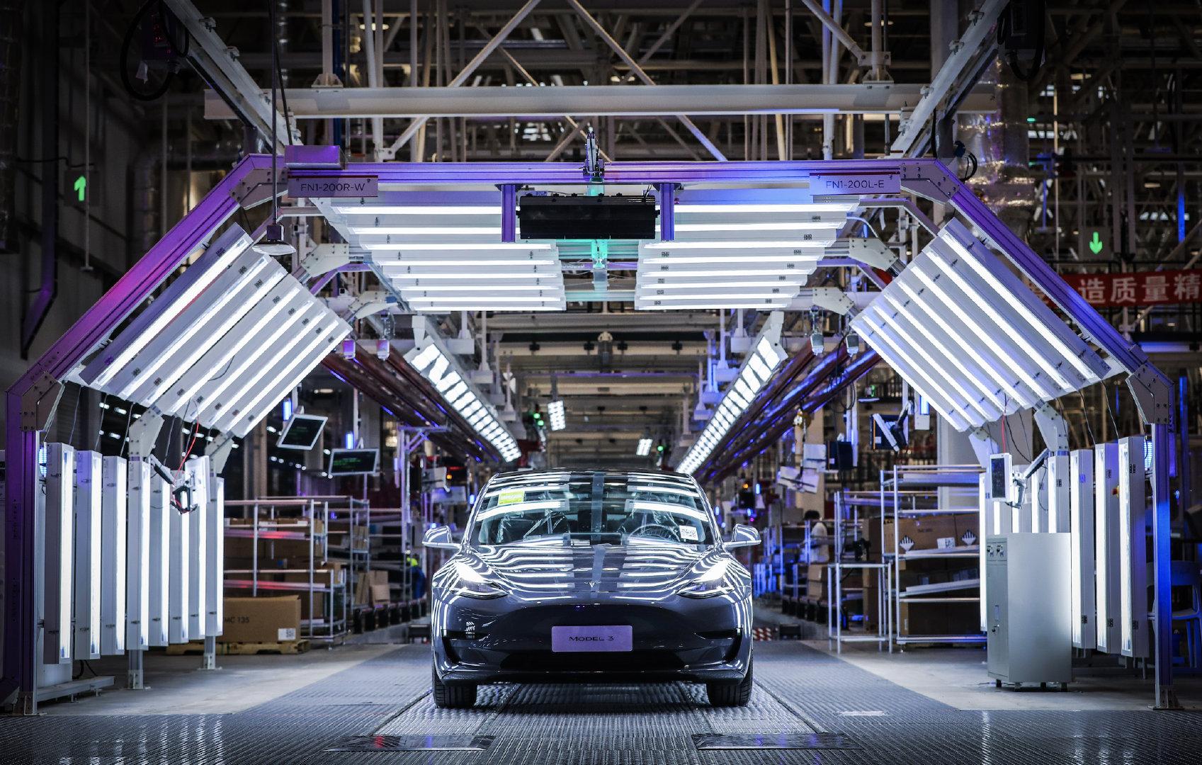 研究报告指出特斯拉国产版Model 3未来放量可期
