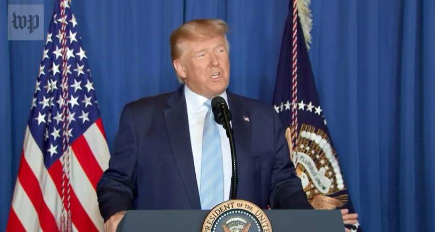 特朗普:空袭伊朗将领是为了制止战争 不是发动战争