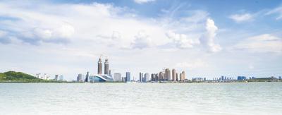 【生态文明@湿地】银川:城在湖