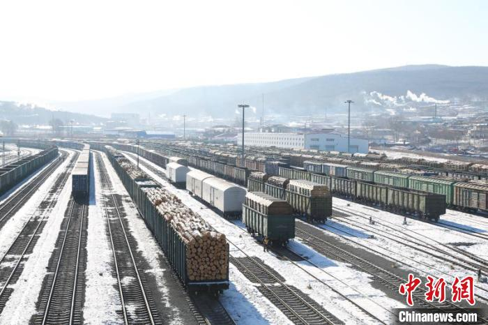 黑龙江省最大对俄口岸站2019年进