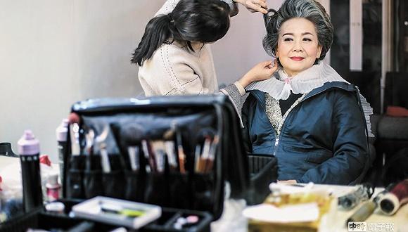 """淘宝""""银发模特""""。图片来源:CFP"""