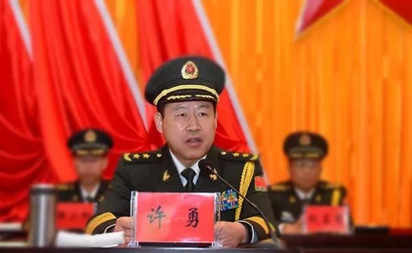 西藏自治区党委常委、西藏军区司令员许勇中将已调离西藏图片