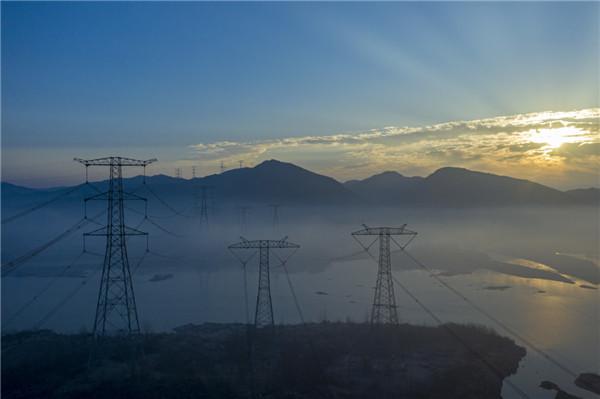 壮丽能源高速——安徽宣广特高压密集通道