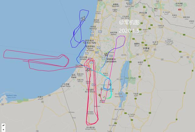 美国惹事以色列不得安生!2.5万平方公里国土4架预警机同时升空