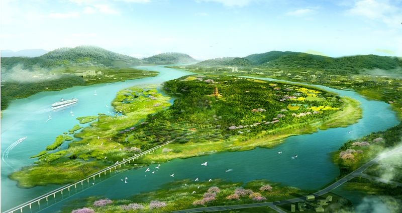 """【建设】再看""""长江风景眼""""  广阳岛一期生态修复今年5月完成图片"""