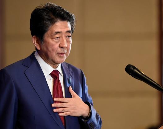 资料图:日本首相安倍晋三。(图源:路透社)