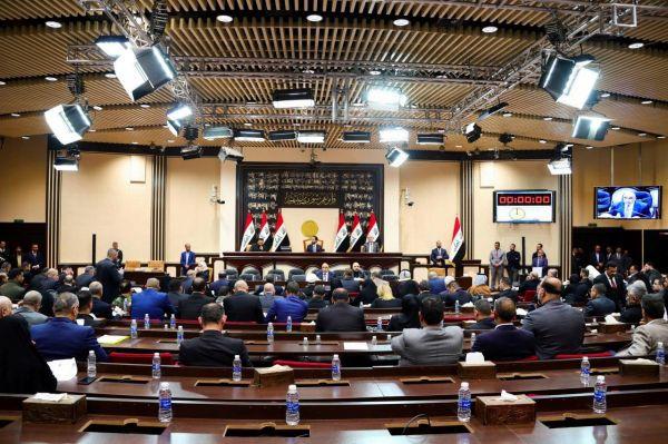 这是1月5日在伊拉克首都巴格达拍摄的国民议会特别会议现场。 新华社发