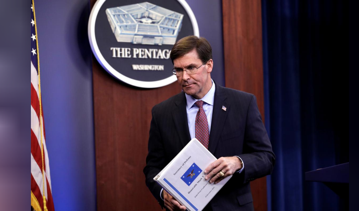 美国国防部长埃斯珀 图源:路透社
