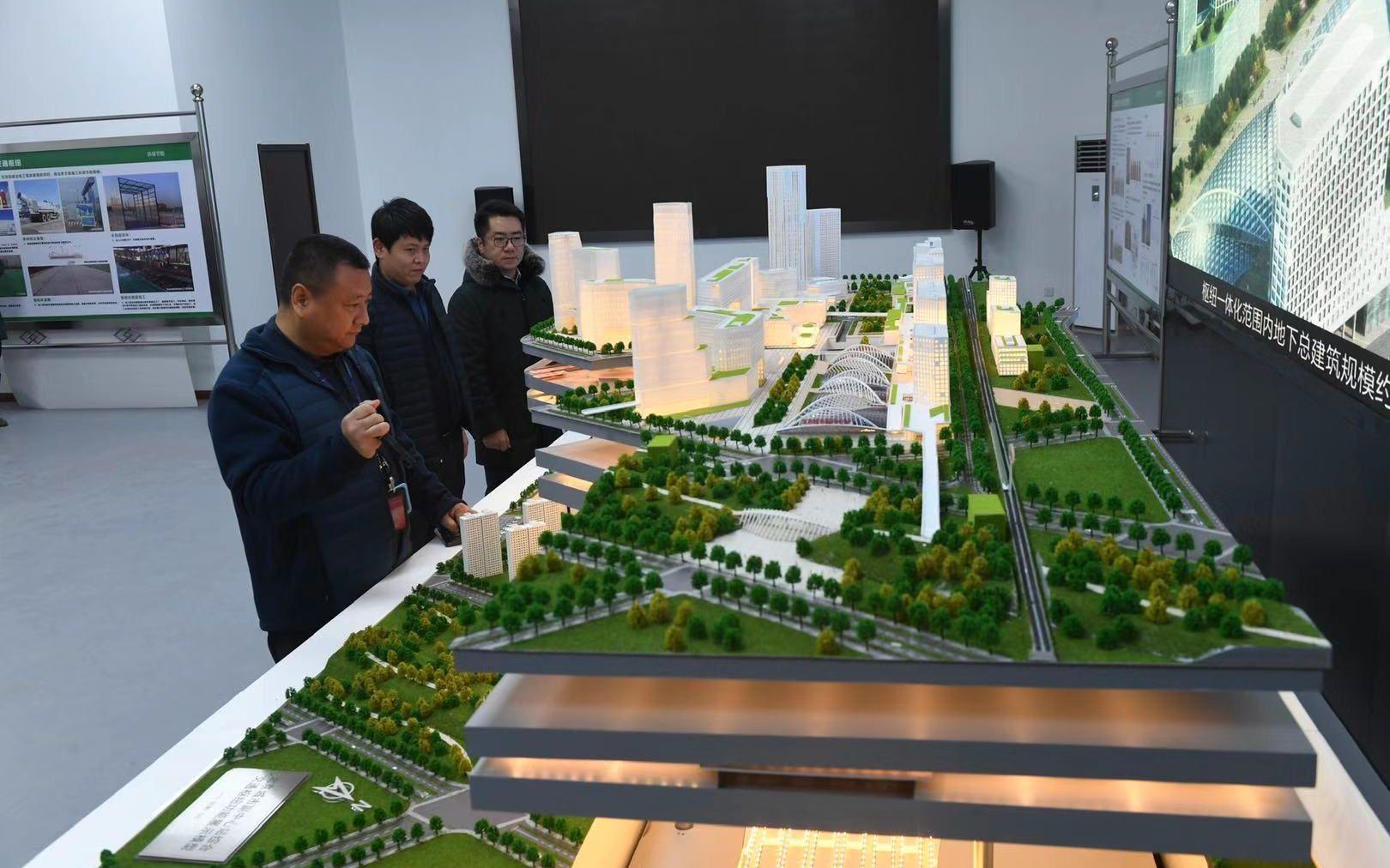 副中心枢纽站开工 将建成北京东部最大商业中心图片