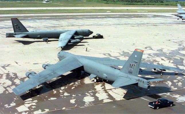 美6架B52轰炸机赴印度洋 可随时实施对伊朗军事行动