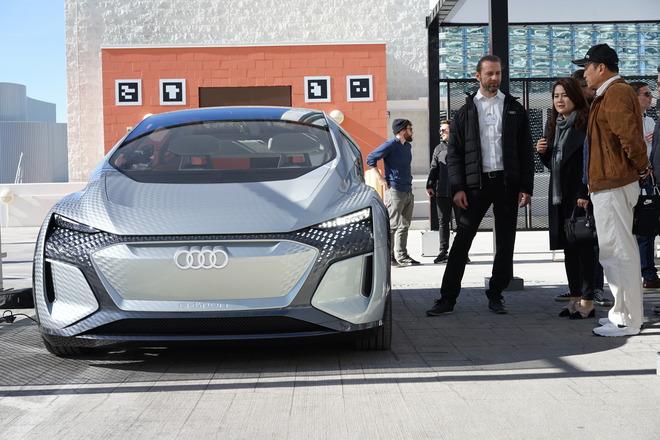 未来汽车是这样的!2020 CES展首试奥迪AI:ME