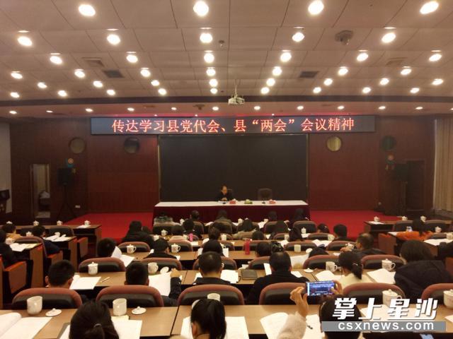 让长沙县党代会、两会精神遍地开花
