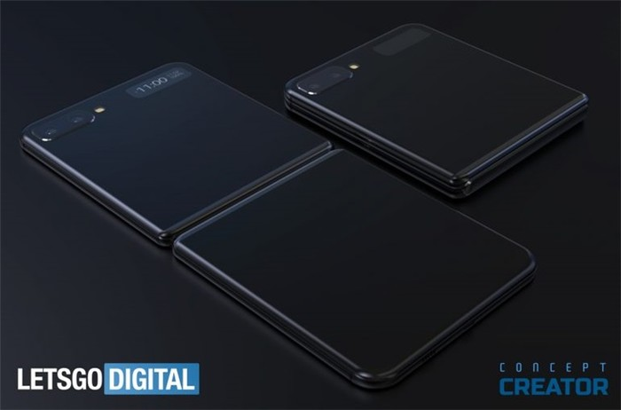 三星Fold 2最新渲染图曝光:神似iPhone 7 Plus